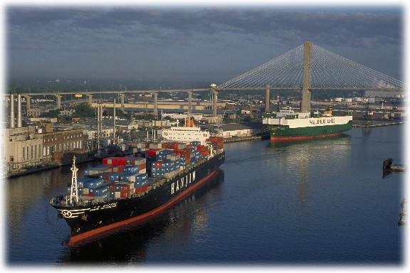 port of savannah georgia information system Two railroads, norfolk southern & csx, on terminal over 3 million ft 2 of warehouse space available within 30 miles of port immediate access to two major.